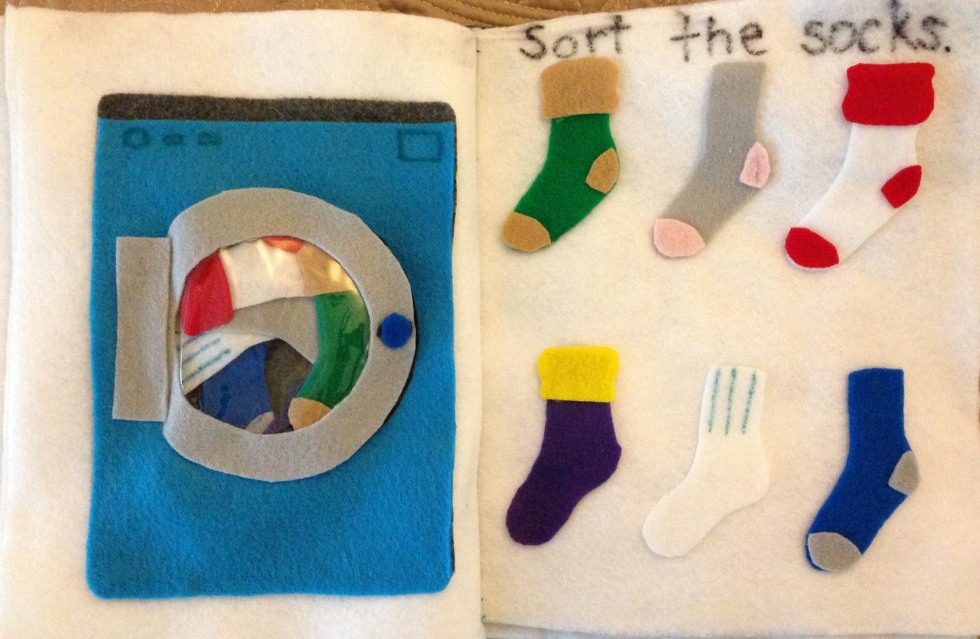 Sock Sorting Page