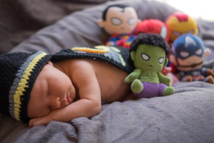 Superhero Baby Photo Shoot