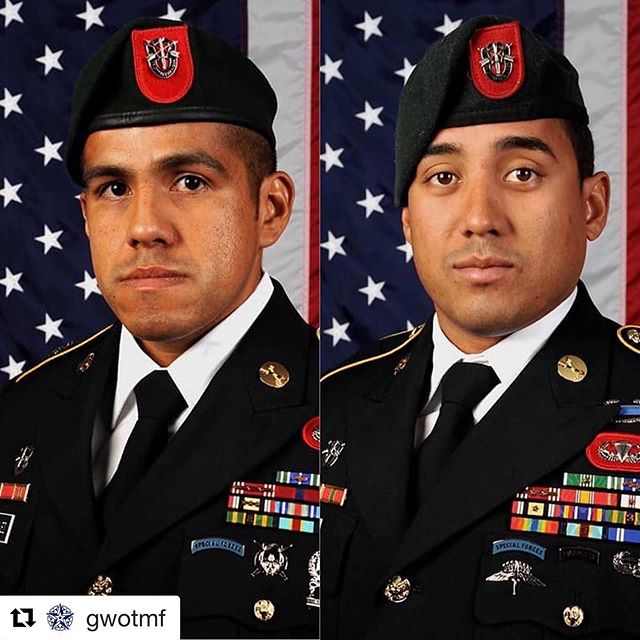 Repost @gwotmf ・・・ Our nation has lost two of its finest war fighters and patriots...MSG Jose J. Gonzalez, 35, and MSG Luis F. DeLeon-Figueroa, 31 were killed during combat operations in Faryab province 21 August 2019, located in the far northwest of Afghanistan along the border with Turkmenistan. Both soldiers were assigned to 7th Special Forces Group at Eglin Air Force Base, Florida.