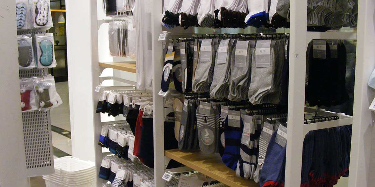 Electronic shelf labels for clothing and fashion apparel