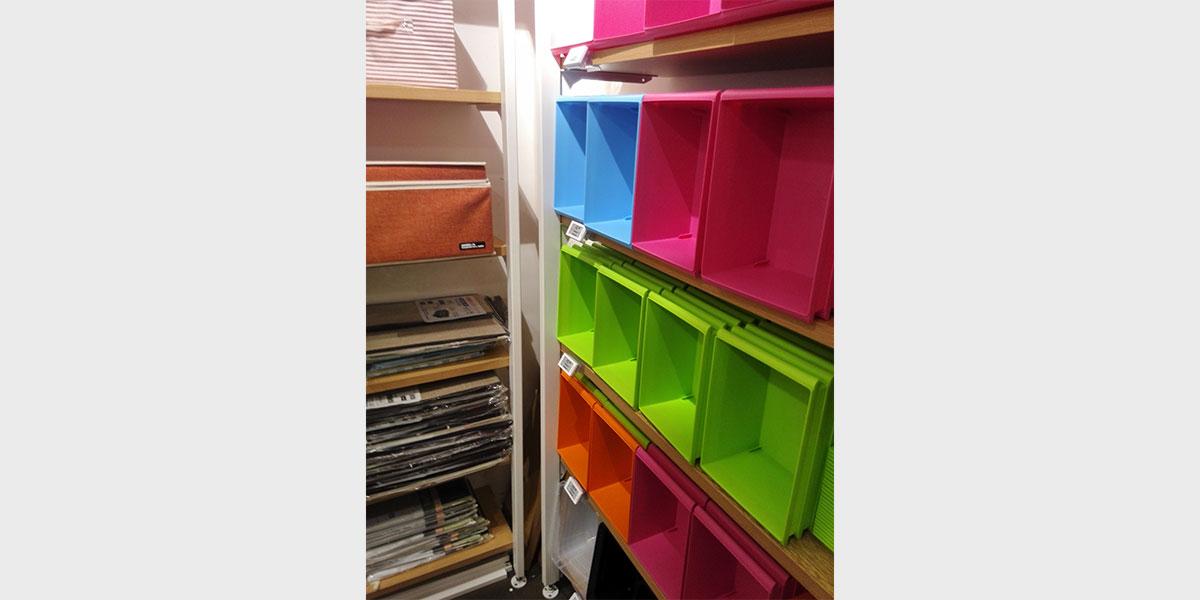 Department store utilising electronic shelf labels