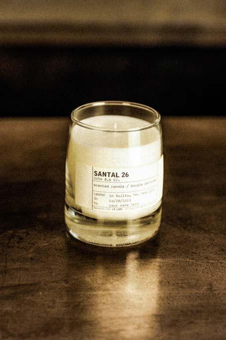 image courtesy of Le Labo Fragrance