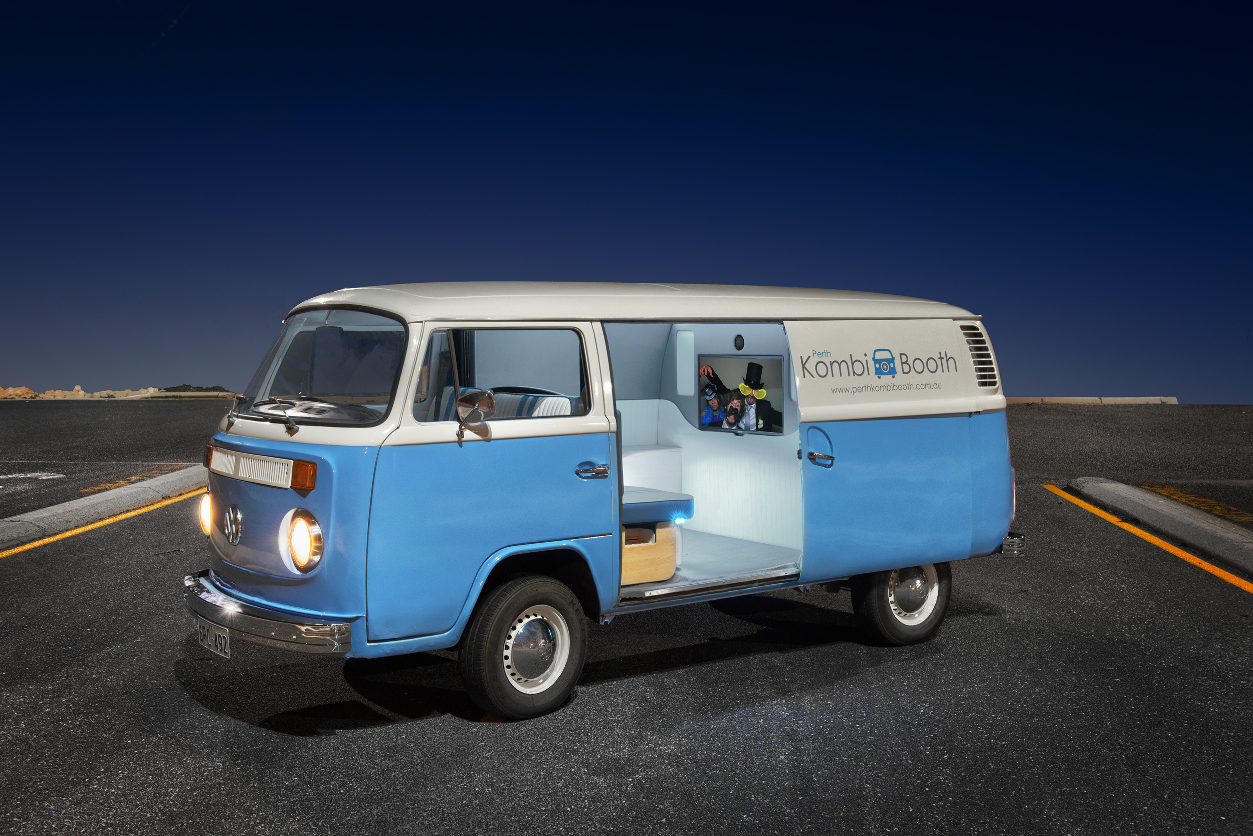 Welcome to Perth Kombi Booth! The most fun you can have in a Kombi…EVER!