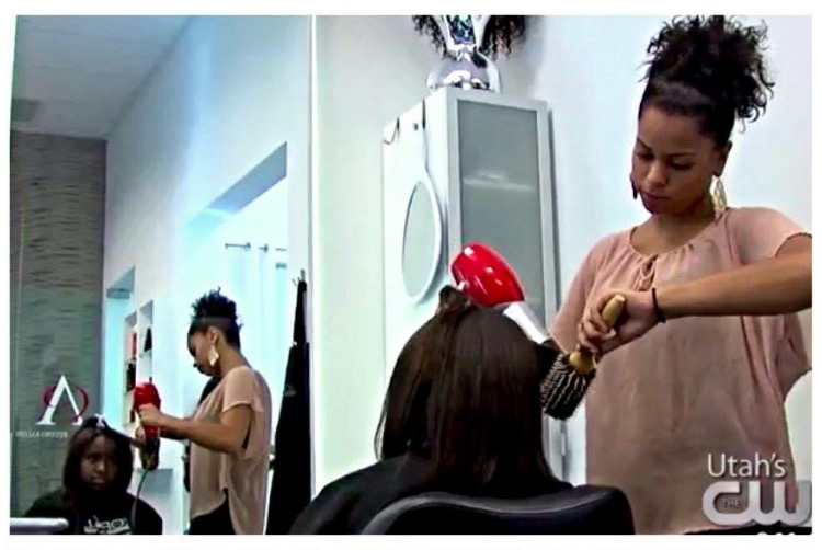 ABC 4 UTAH: Stylist's show Utah moms how to manage multicultural hair.