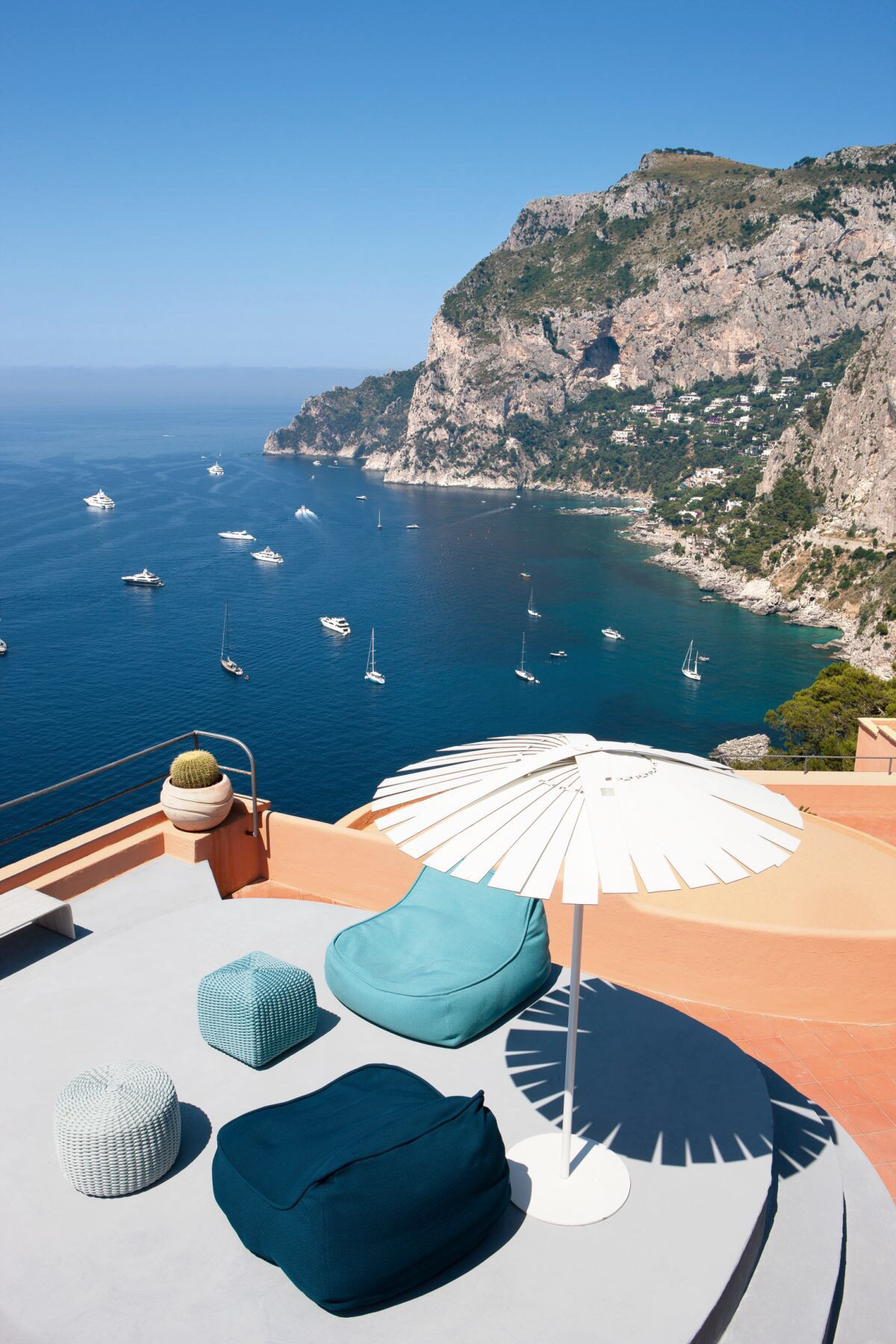Capri, Italy // view from the top