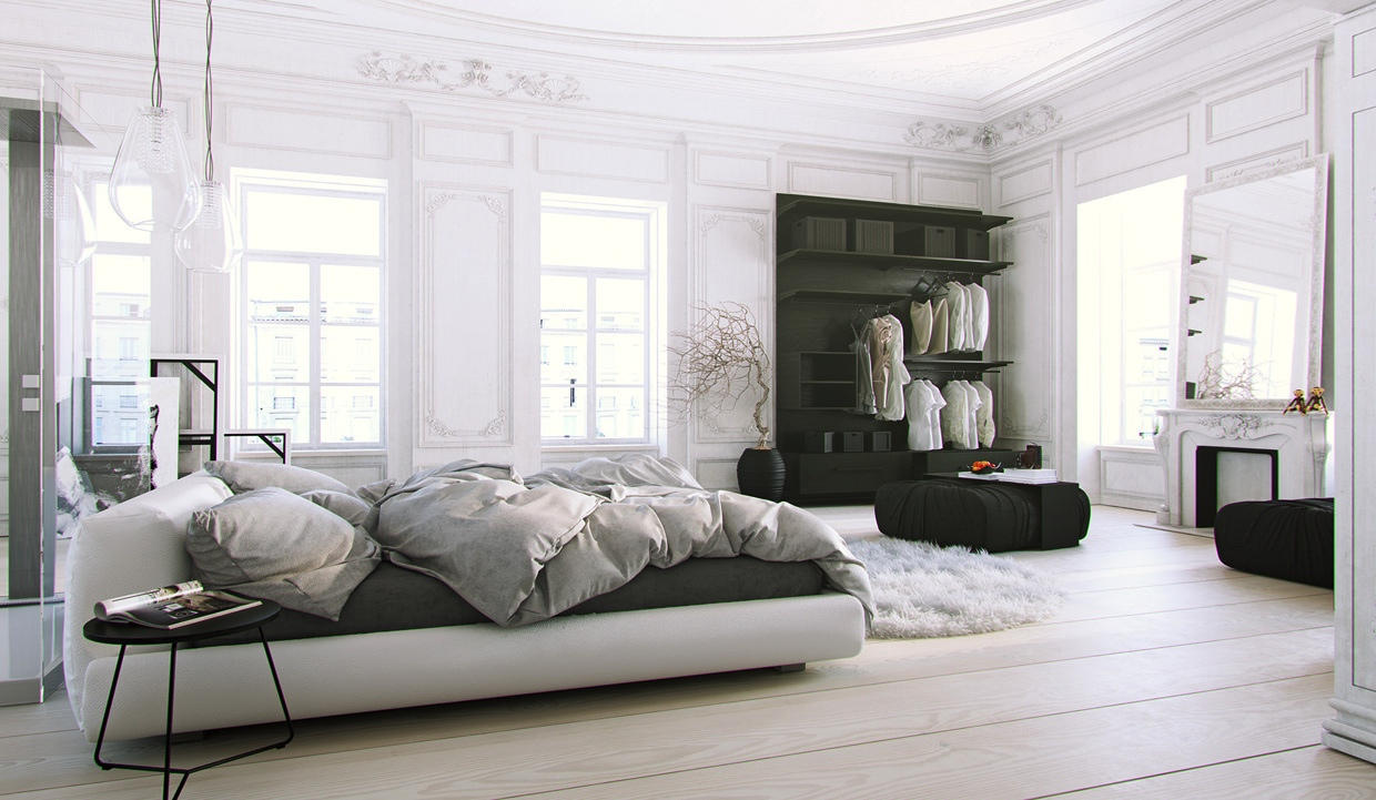 Parisian-Apartment-soft-white-bedroom-with-natural-light-and-black-accents.jpeg
