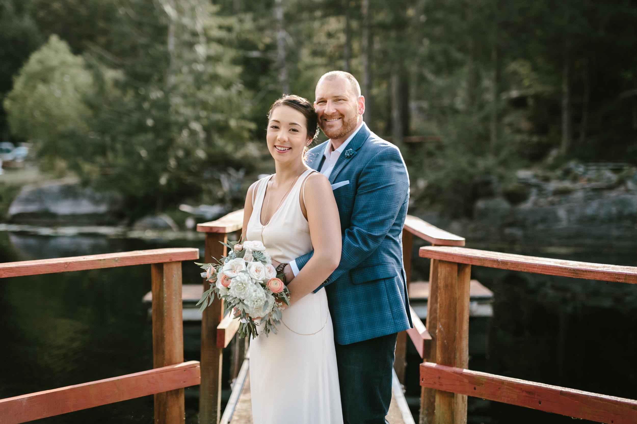 Kate + Brad    Ruby Lake Resort | ALBA Photography