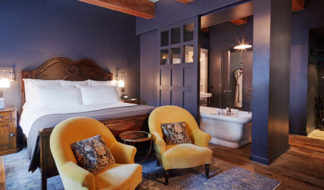 Soho House NY, bedroom