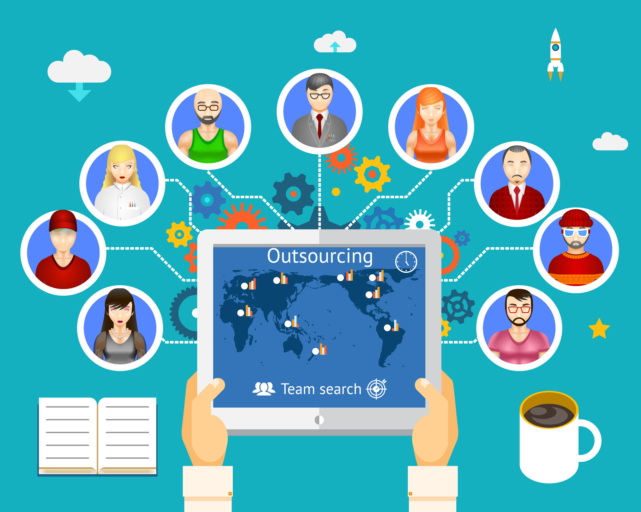 How to find your virtual team members -