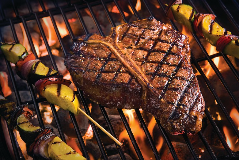 Black Angus Porterhouse Steak, the finest meat for any holiday bbq