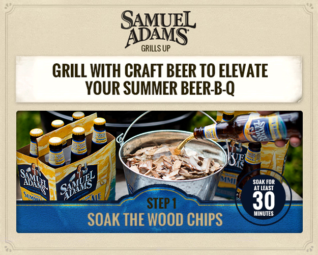 Samuel Adams has the right idea, give your bbq a little kick up a notch