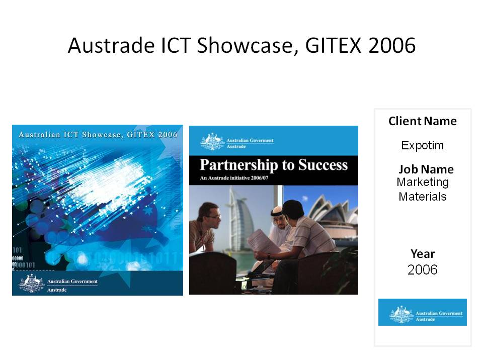 Austrade ICT Showcase