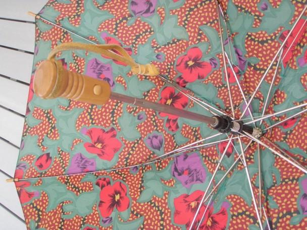 aesthetikara vintage Dior umbrella