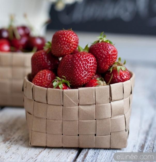 DIY-paper-bag-basket