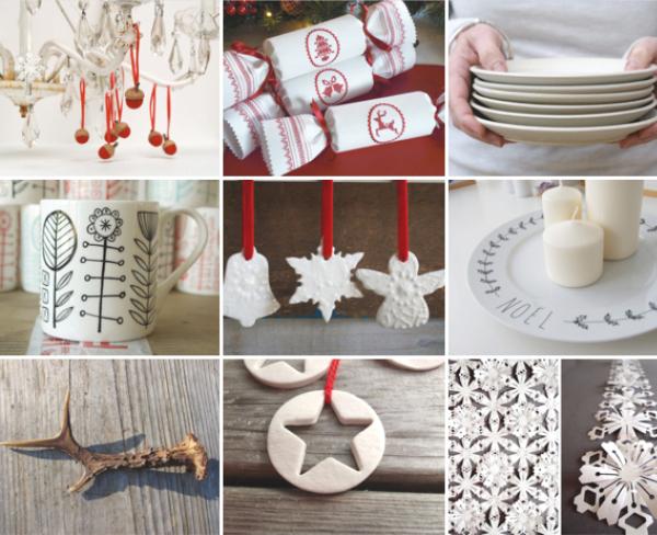 Etsy Christmas Table