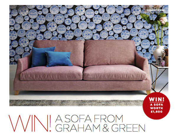 Win a sofa from Graham and Green | The Simple Things