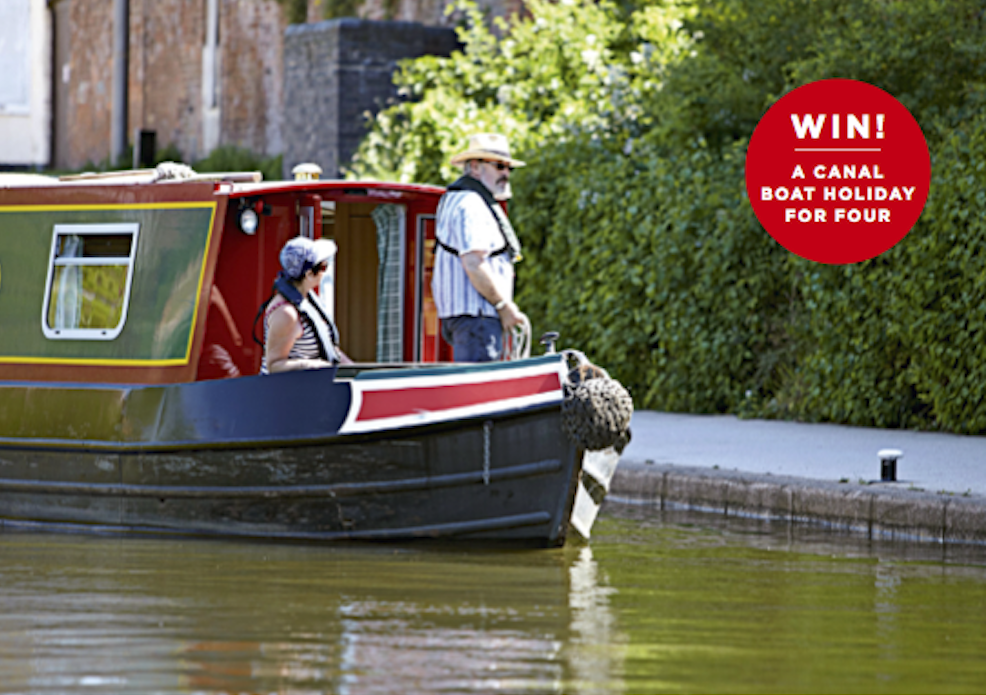 Win a canal boat holiday with The Simple Things and ABC Boat Hire