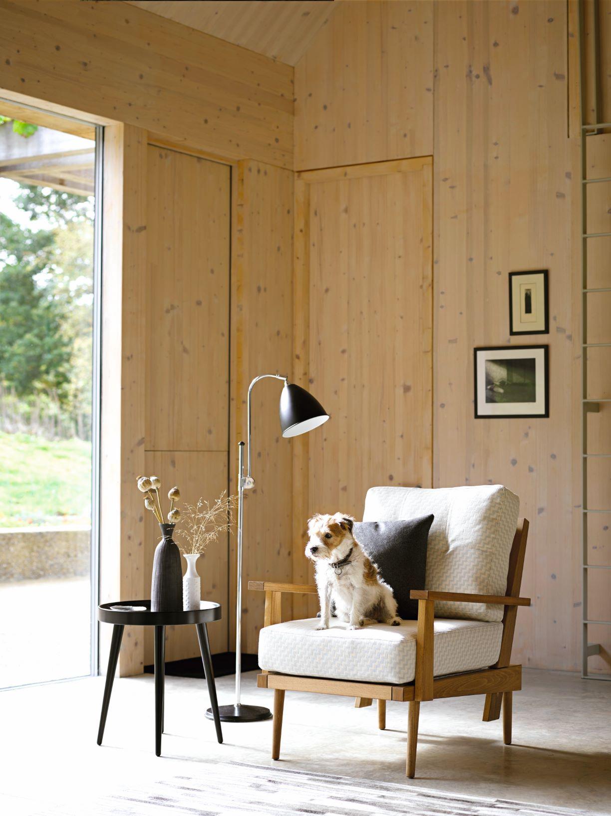 Hendrik armchair, £1,200,  sofa.com  (dog not included)