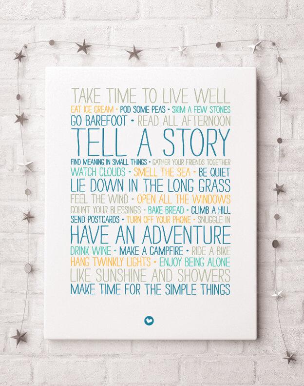 You Are My Greatest Adventure Letterpress Print  Postcard