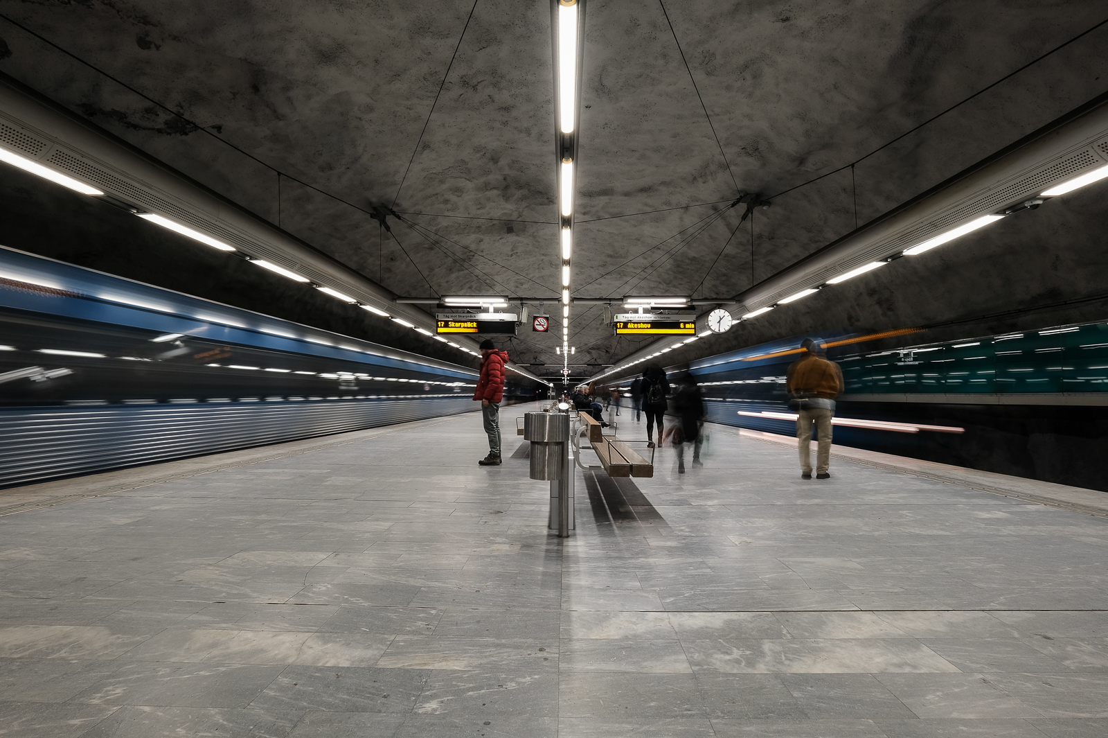 Bagarmossen Metro Station.