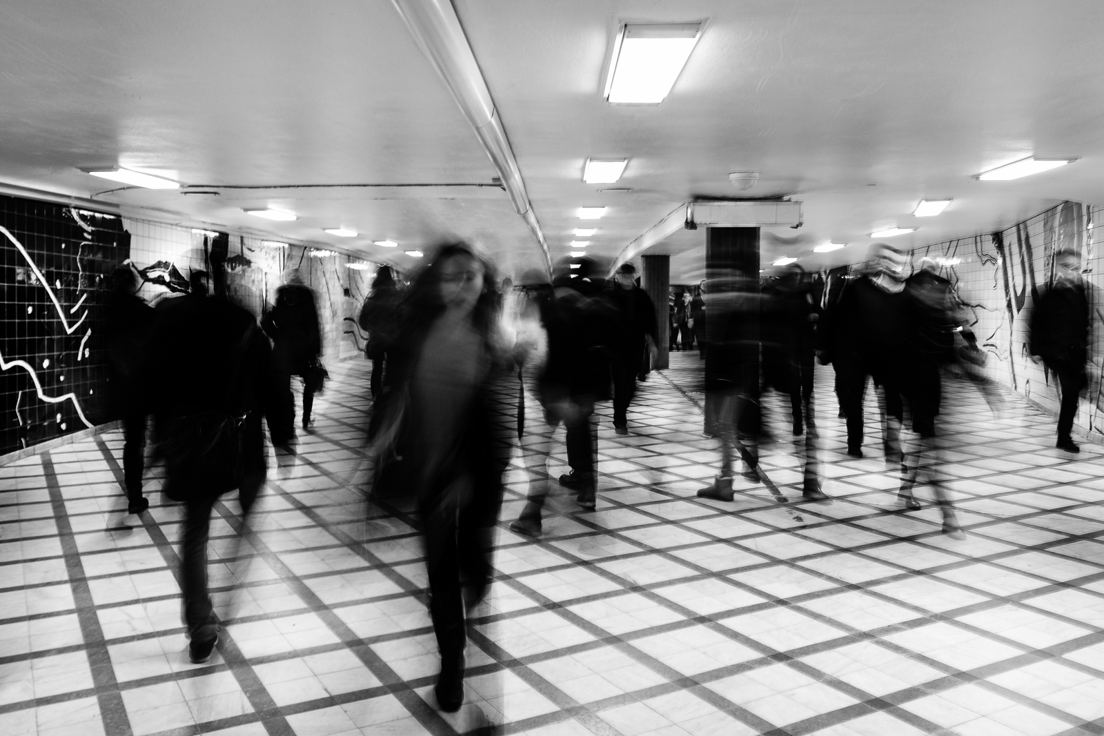 The Afternoon Rush. Stockholm Central Station.