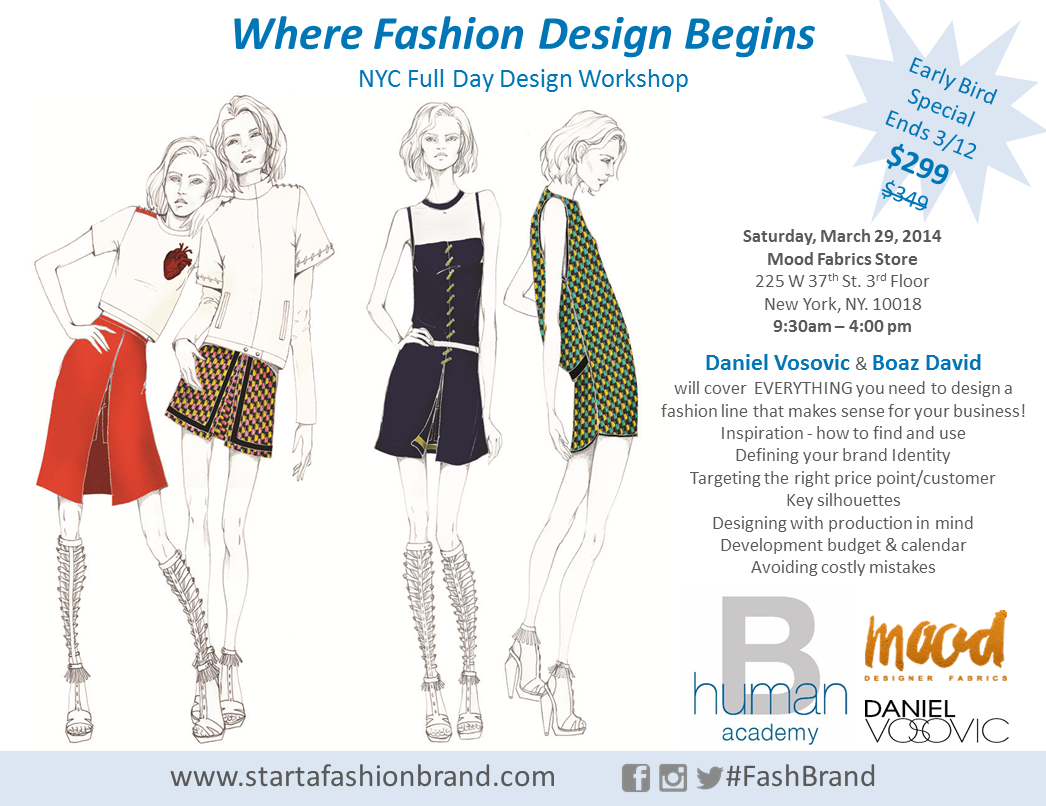 5 Top Secrets For Designing A Fashion Line Fashion Business Solutions Human B