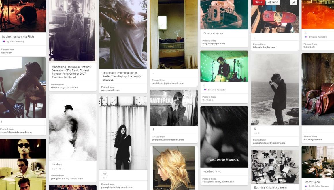 A Pinterest Inspiration Board - Lowfi
