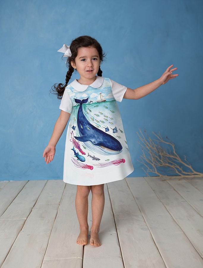 Papergirl Children A dress