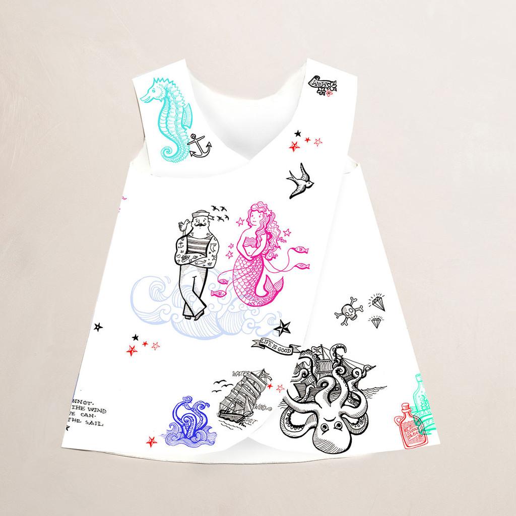 Papergirl X dress Sailor