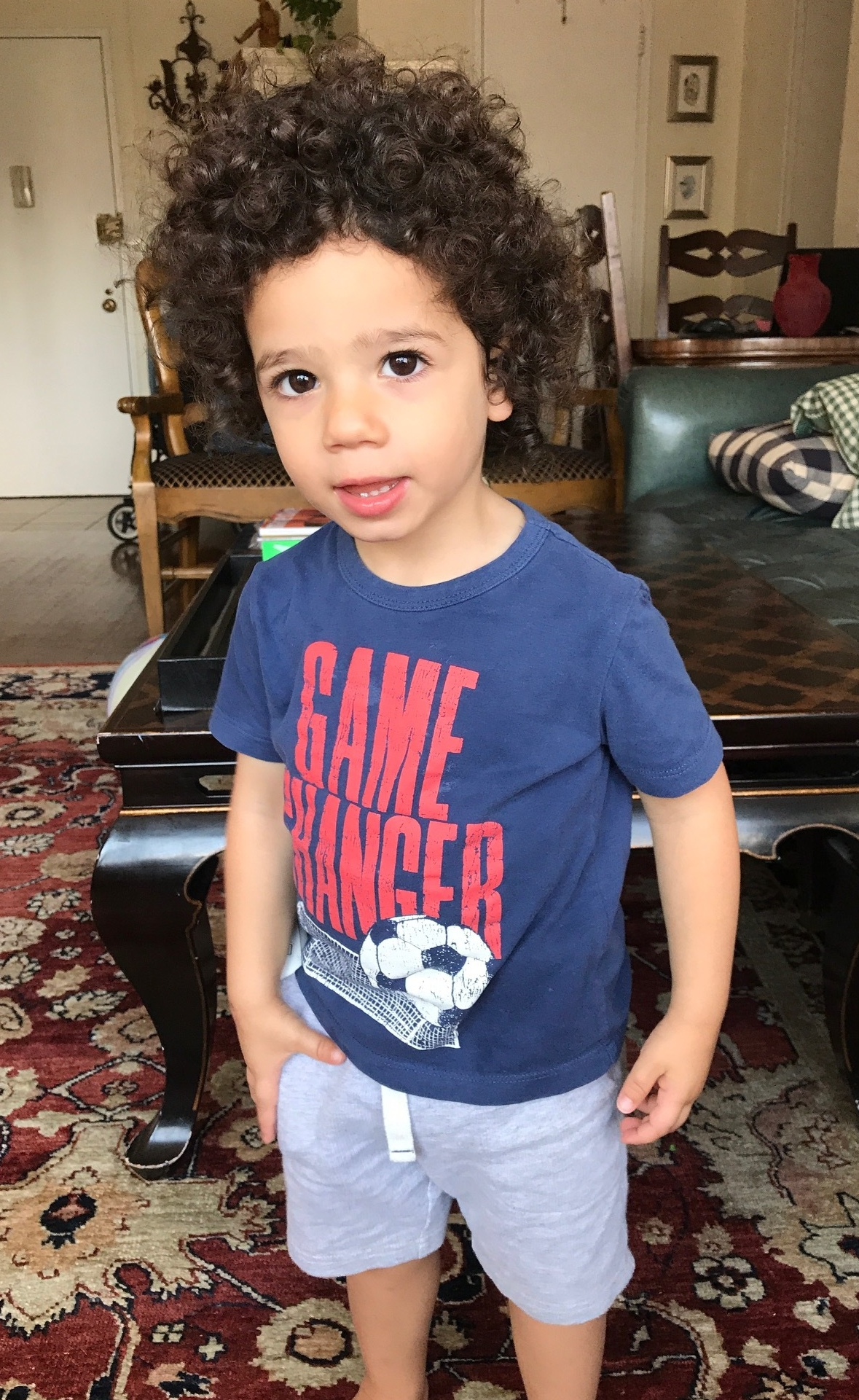 Lev and his favorite Soccer Tee.jpg
