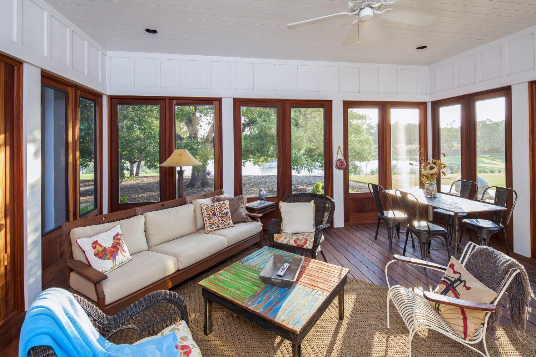 Architecture Home Elegant Farmhouse sun room