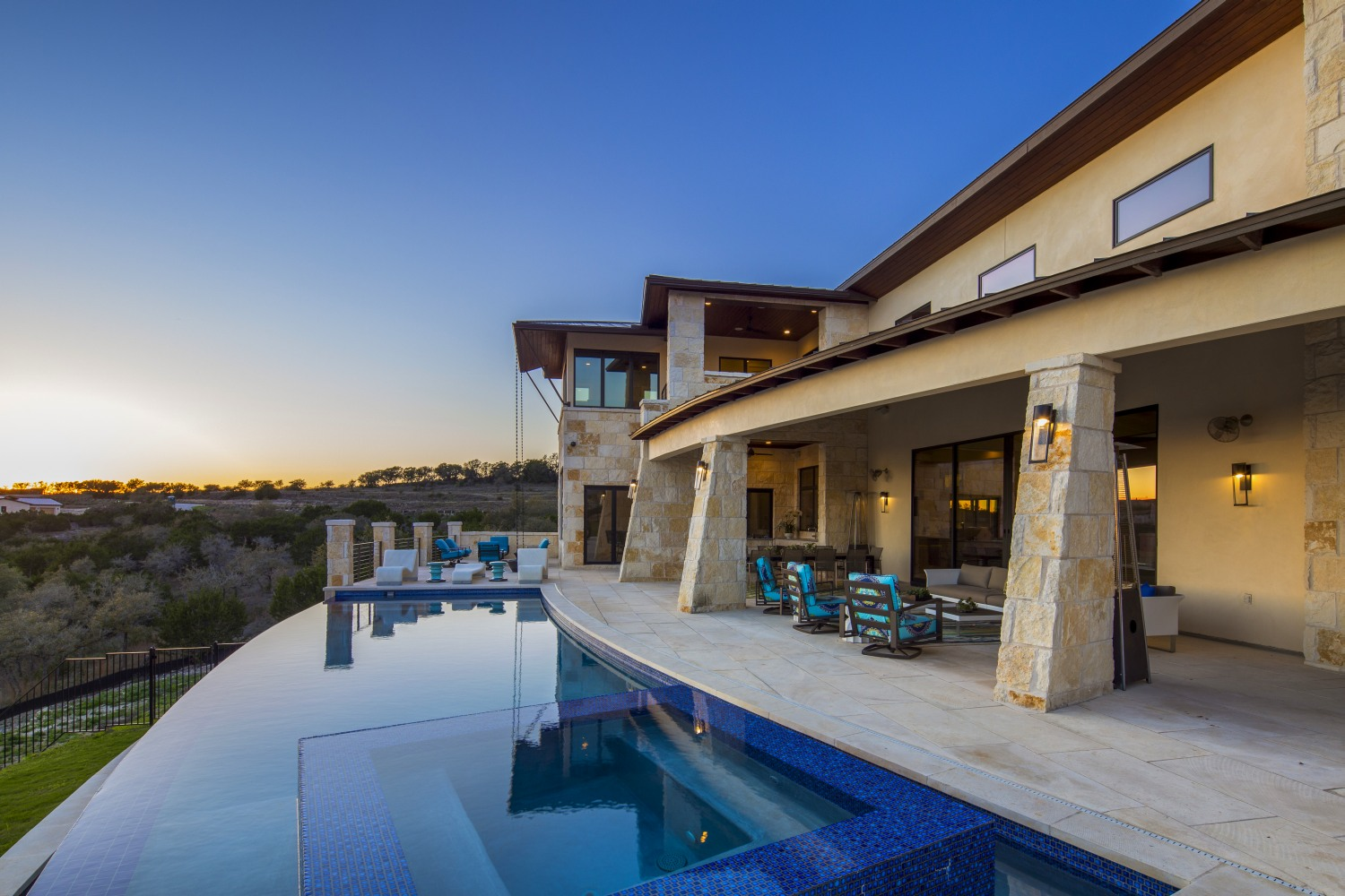 Architecture Home Musket Contemporary pool