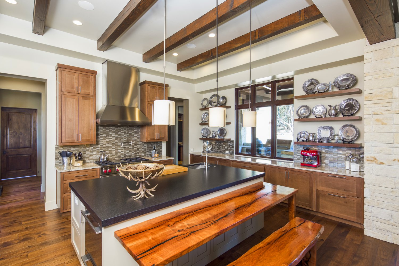 Architecture Home Hill country farmhouse kitchen