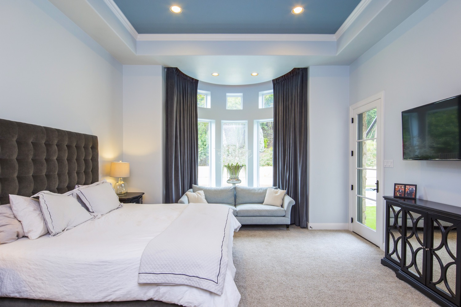 Architecture Home French contemporary bedroom