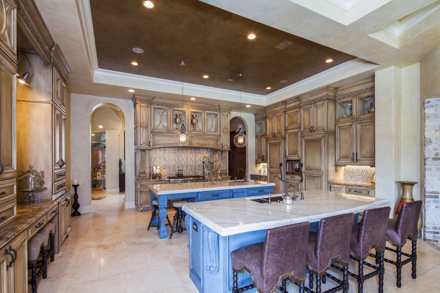 Architecture Home Eclectic old world kitchen
