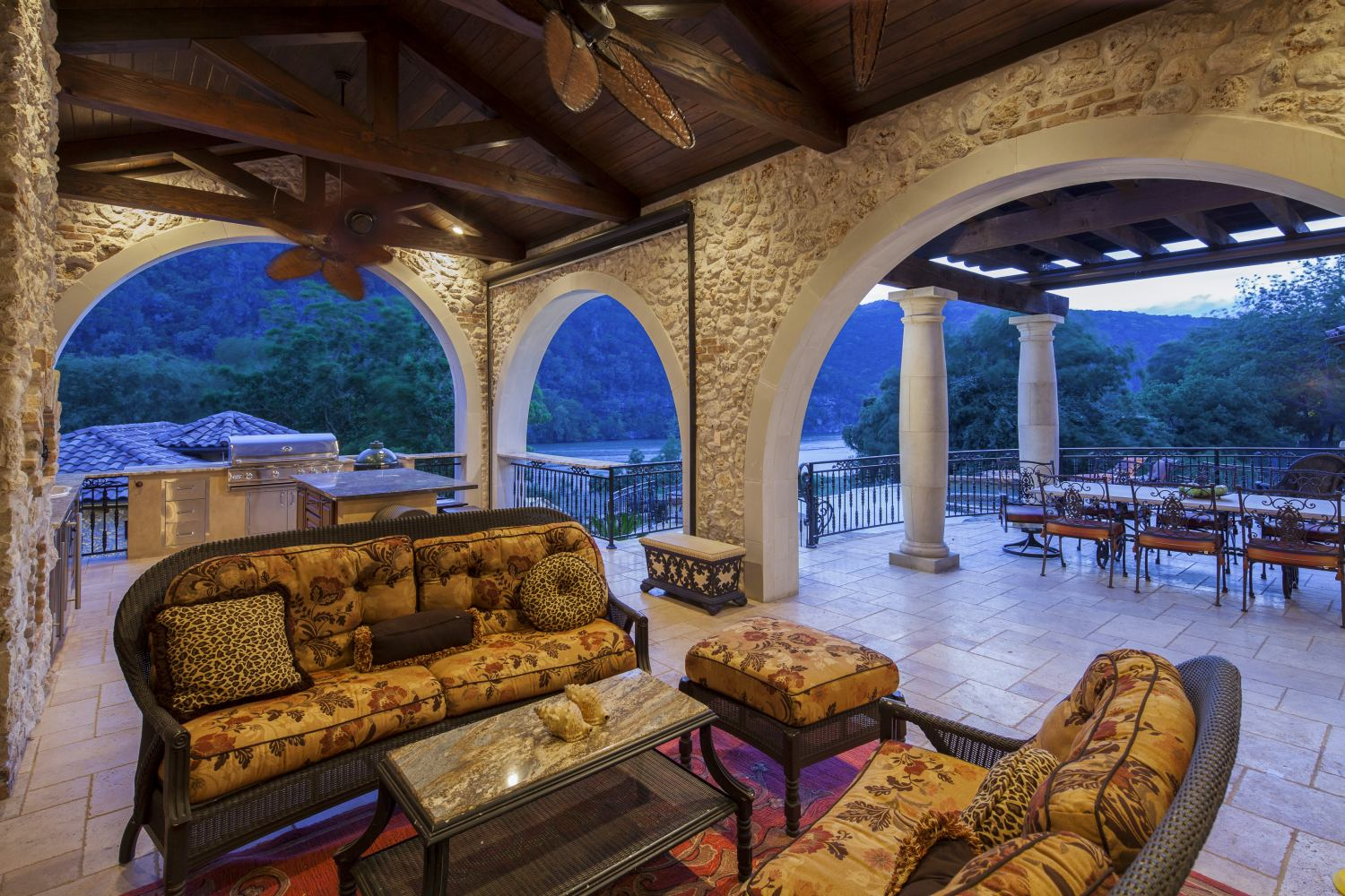 Architecture Home Eclectic old world patio