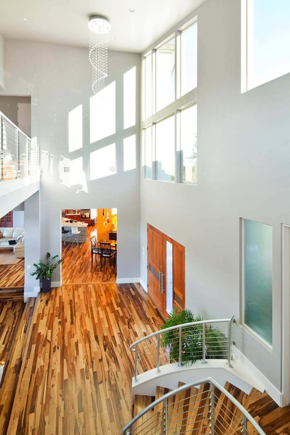 Architecture Home Cuesta Contemporary stair