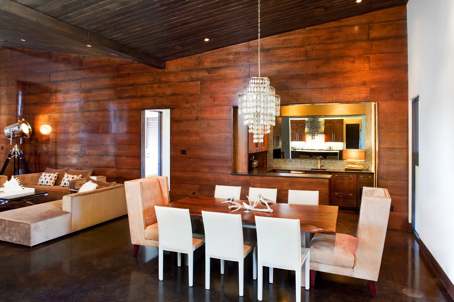 Architecture Home Modern Industrial dining