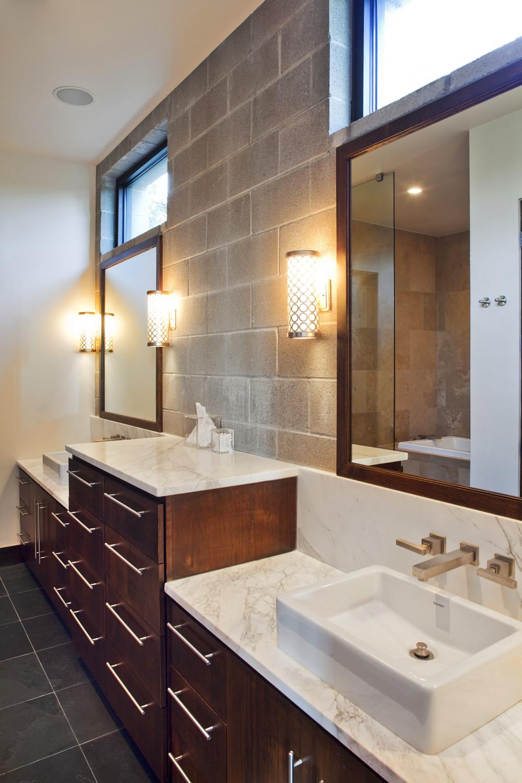 Architecture Home Modern Industrial bathroom