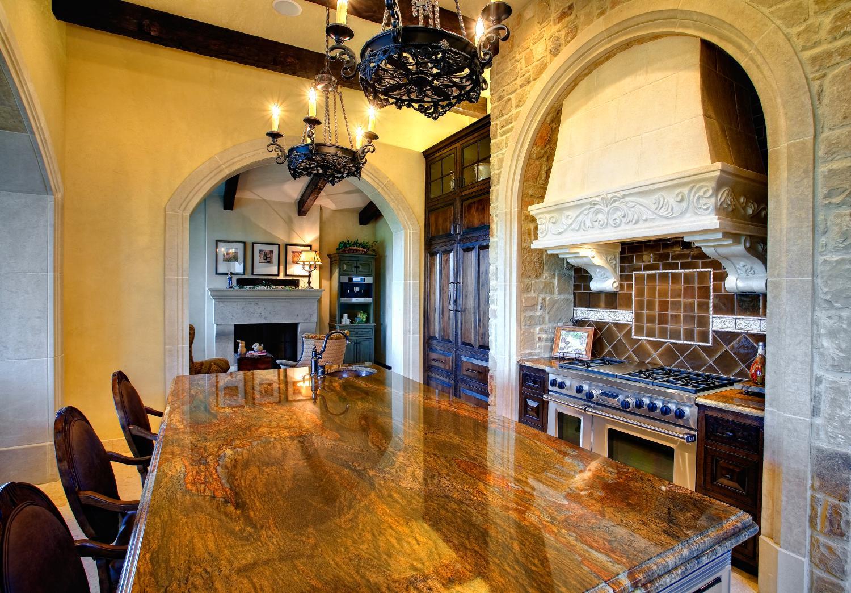 Architecture Home Courtyard retreat kitchen