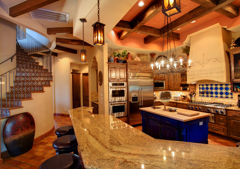Architecture Home Cimarron hacienda kitchen