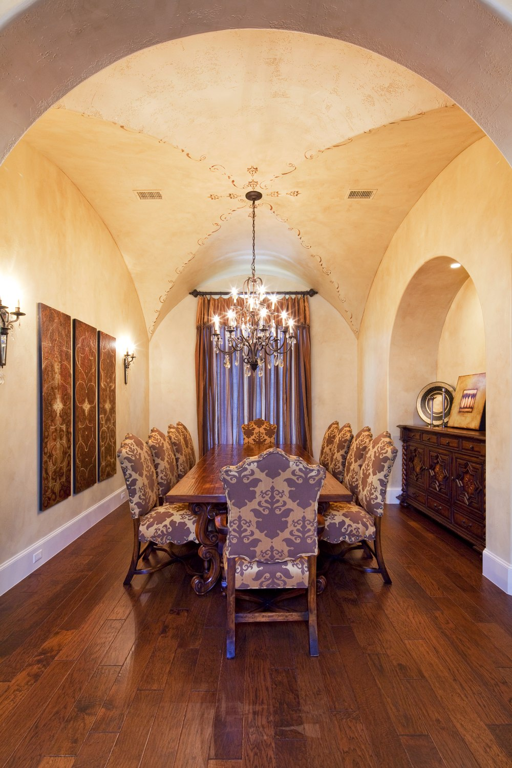 Architecture Home Texas tuscan dining