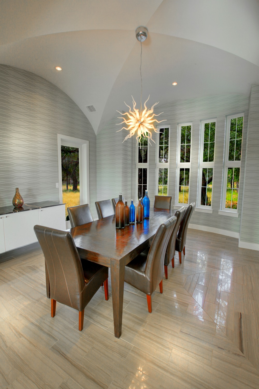 Architecture Home Contemporary modern dining