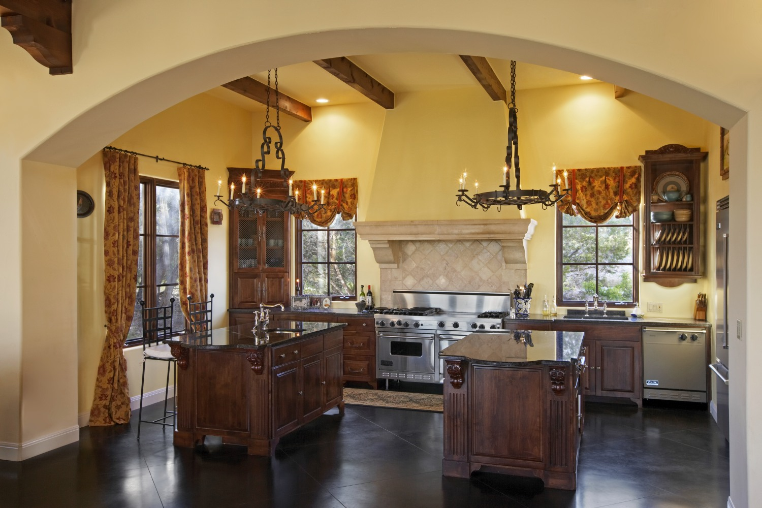 Architecture Home Umbrian Villa kitchen