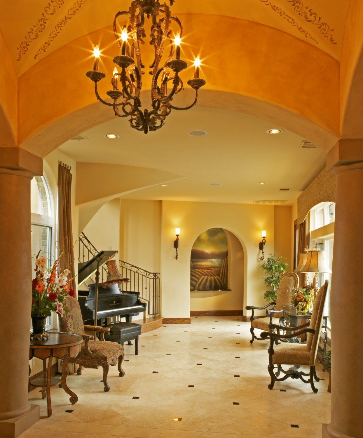 Architecture Home Shore Oaks foyer