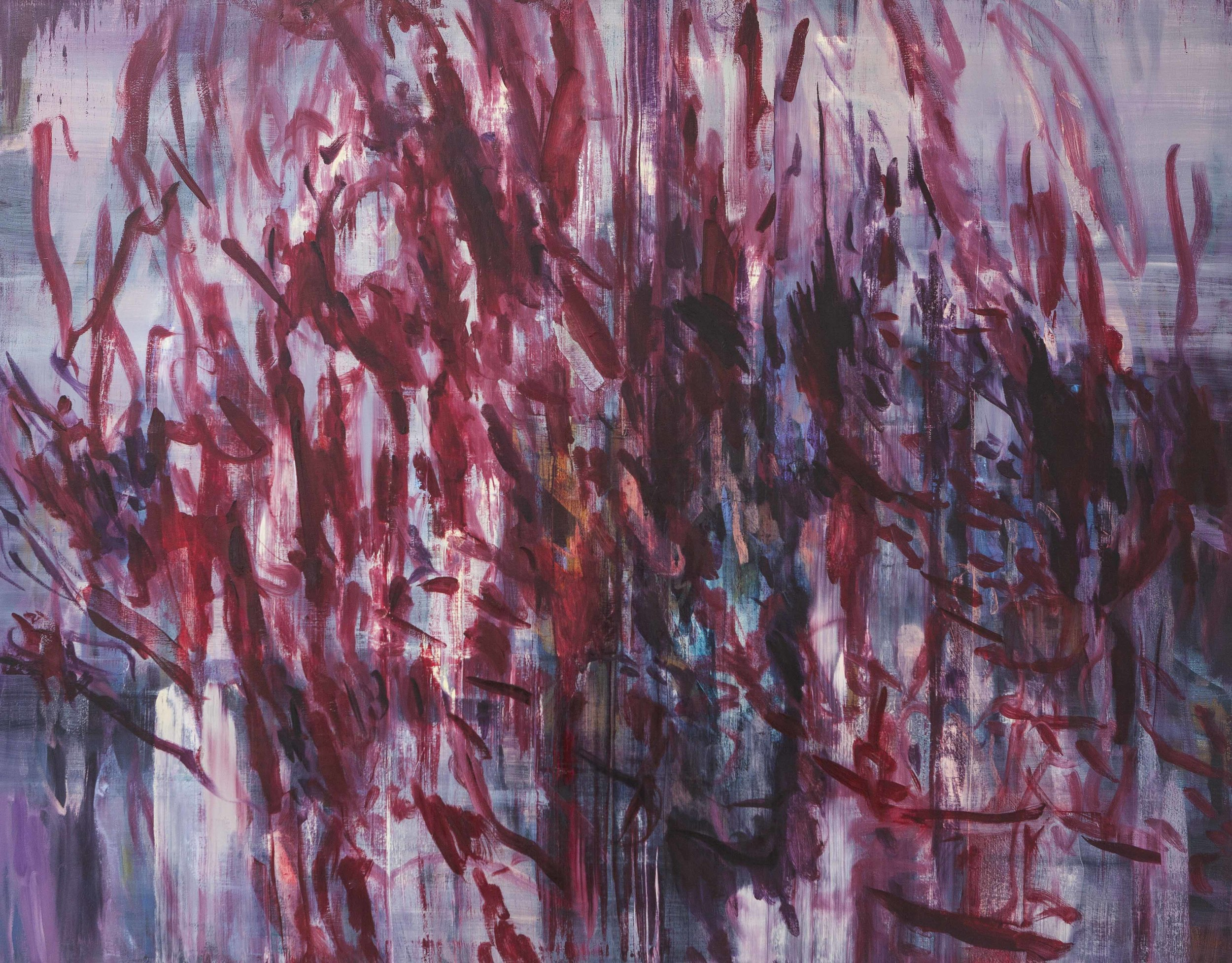 The Red Painting  2013  oil on canvas  146 x 186 cm