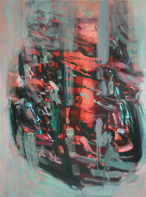 Untitled #5  2011  oil on canvas  160 x 120 cm