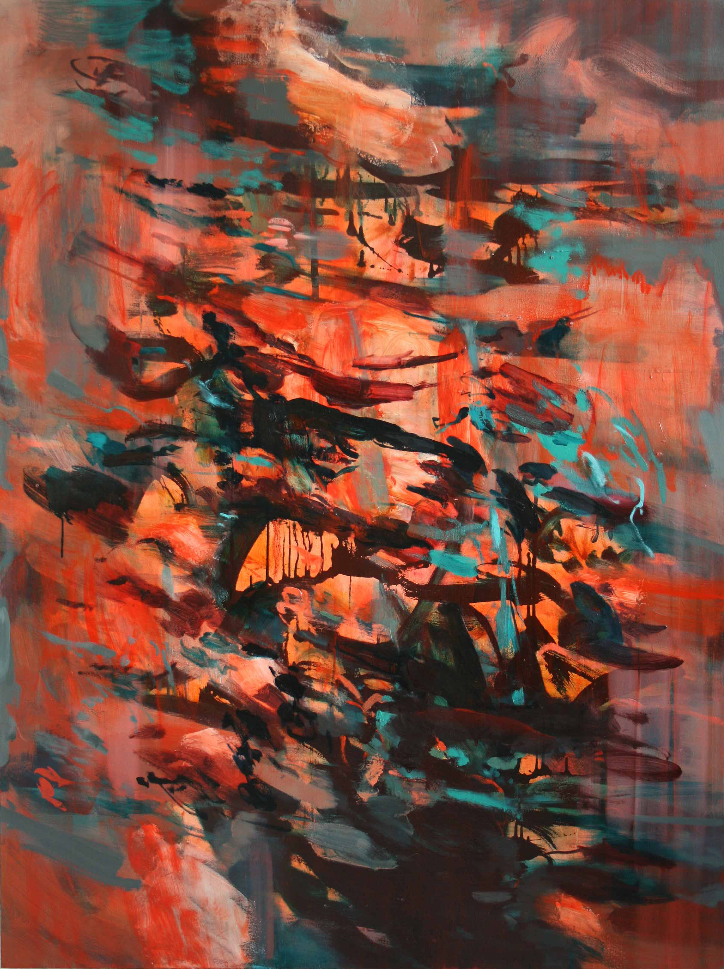 Untitled #4  2011  oil on canvas  160 x 120 cm