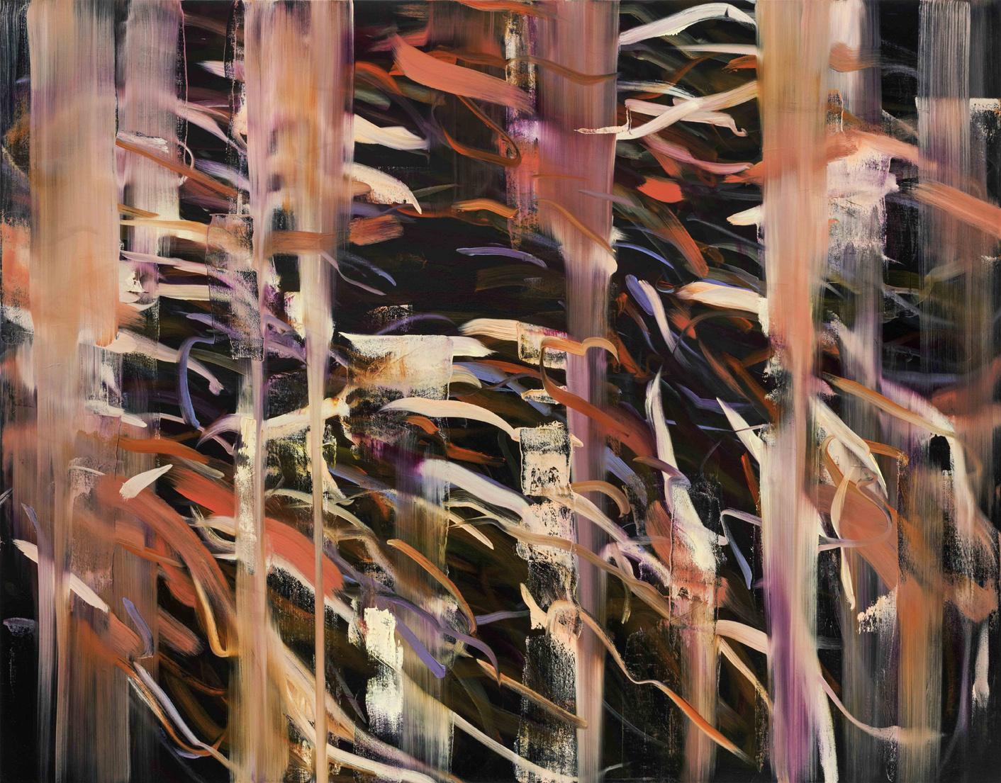 Untitled no 3 (dark ground)  2015  oil on canvas  146 x 186 cm
