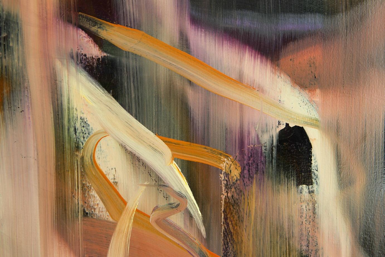 Untitled no 3 (dark ground)  detail  2015  oil on canvas  146 x 186 cm